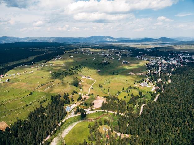 Vista panorâmica pitoresca da paisagem natural