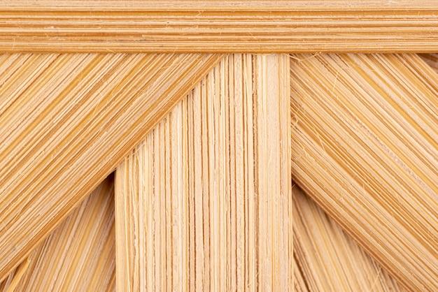 Vista superior com textura de madeira natural