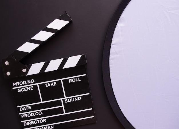 Vista superior, conceito de cinema