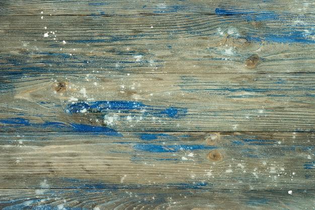 Vista superior da superfície de madeira cinza velha