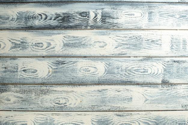 Vista superior da superfície de madeira