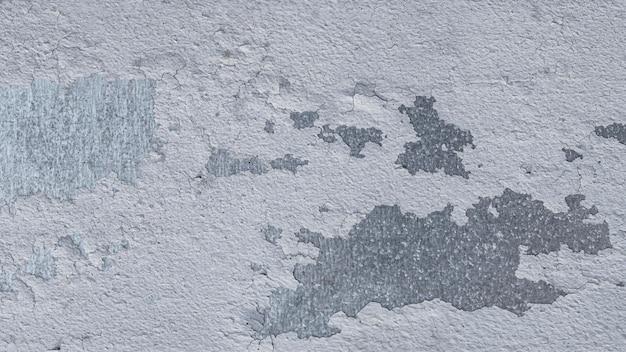Vista superior da superfície de metal desgastada