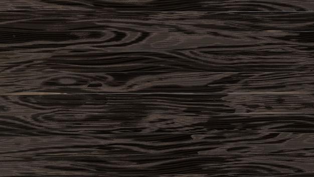 Vista superior da superfície estrutural de madeira preta