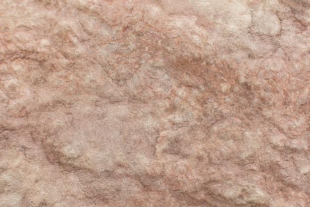 Vista superior da superfície grossa