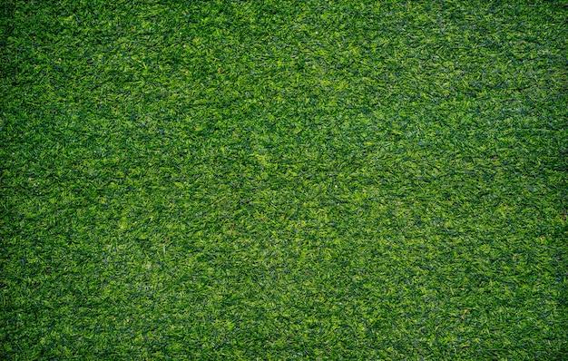 Vista superior da textura de grama artificial