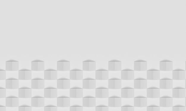 Vista superior das setas das formas geométricas do fundo