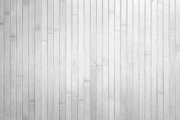 Vista superior de fundo de parede de textura de bambu branco
