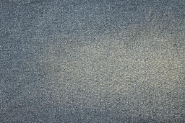 Vista superior do fundo de jeans azul