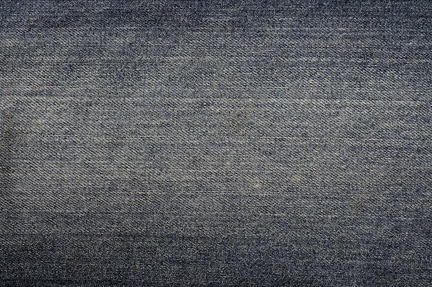 Vista superior do fundo de jeans preto
