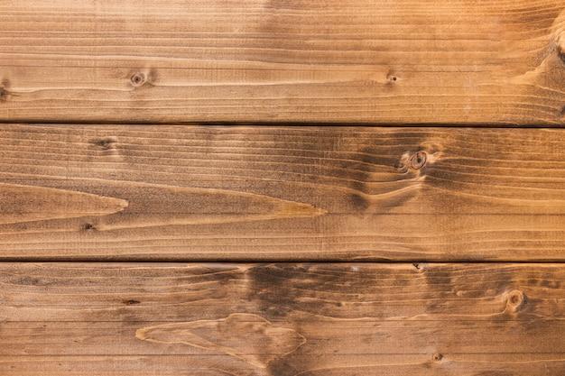 Vista superior do fundo de madeira