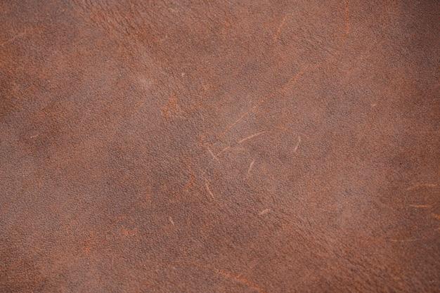 Vista superior do fundo de textura de couro