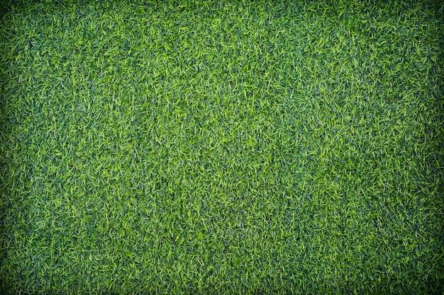 Vista superior do fundo de textura de grama artificial