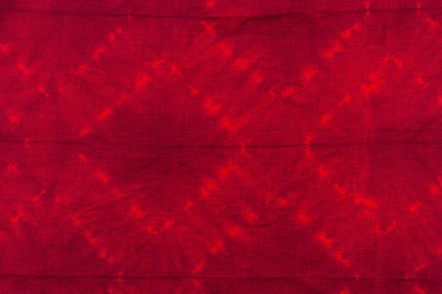 Vista superior do padrão de tie-dye colorido