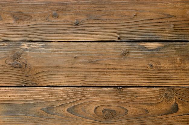 Vista superior do plano de fundo abstrato de tábuas de madeira escuras