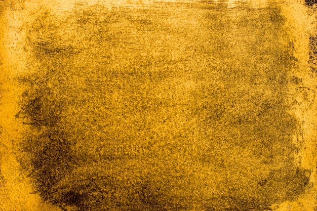 Vista superior elegante textura dourada