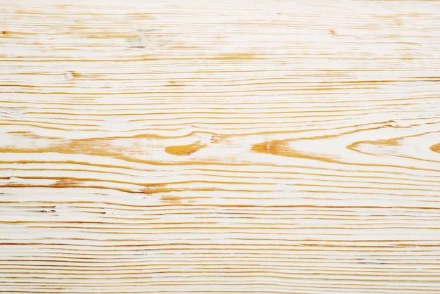 Vista superior em textura de madeira escovada branca