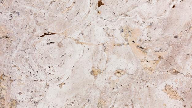 Vista superior fundo de mármore áspero