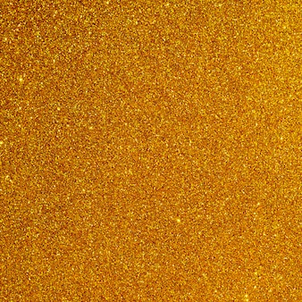 Vista superior fundo glitter laranja
