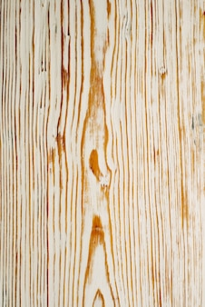 Vista superior na textura de madeira escovada branca. - imagem