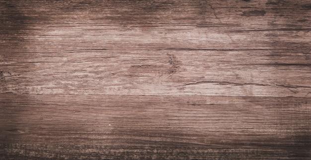 Vista superior plana leigos fundo de textura de madeira áspera e velha