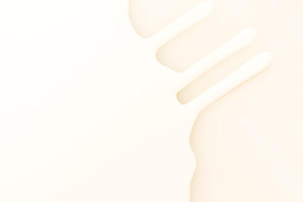 Vista superior textura de tinta branca e rosa
