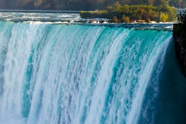 Vistas fantásticas das cataratas do niágara, ontário, canadá