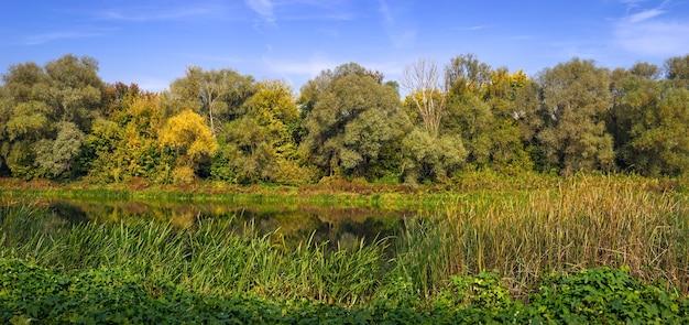 Vistas panorâmicas do rio