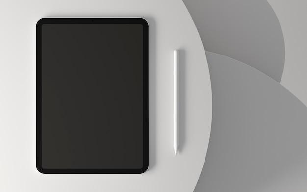 Vitrine de tablet moderno