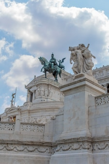 Vittoriano em roma, itália