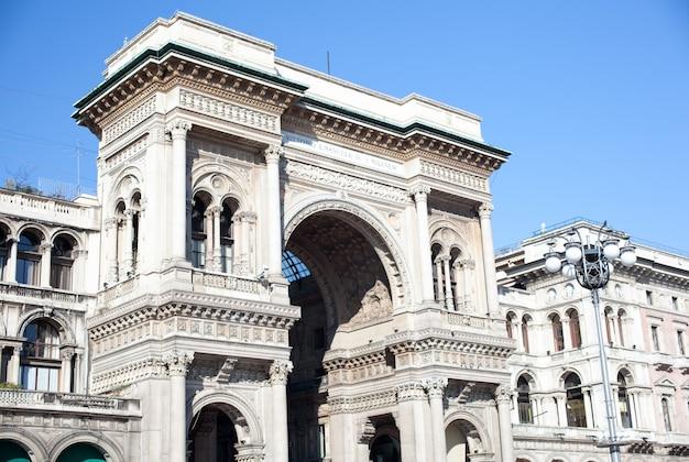 Vittorio emanuele ii galeria em milão
