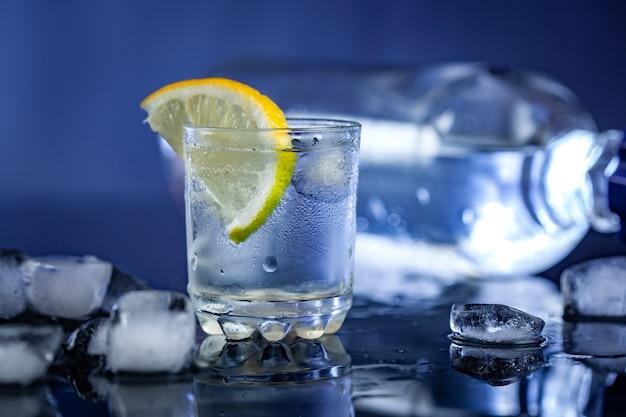 Vodka com limon