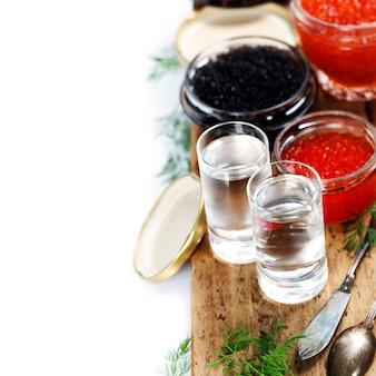 Vodka e caviar