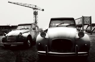 Volkswagon automóveis clássicos