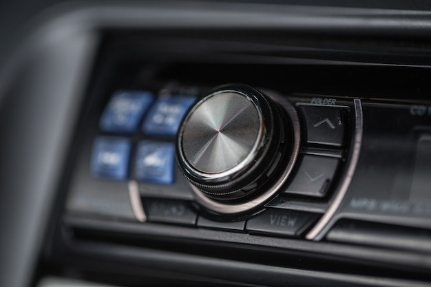 Volume de áudio do carro
