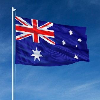 Vôo da bandeira de austrália