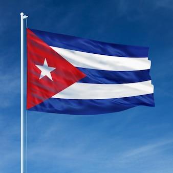 Vôo da bandeira de cuba