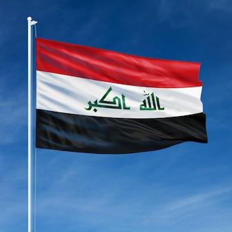 Vôo da bandeira do iraque