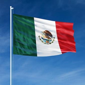 Vôo da bandeira do méxico