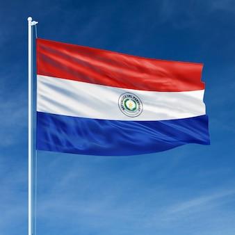 Vôo da bandeira do paraguai