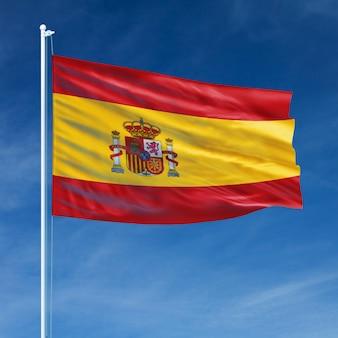 Vôo da bandeira espanhola