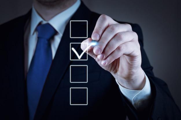 Votar em eleições democráticas, referendo. faça a escolha certa.