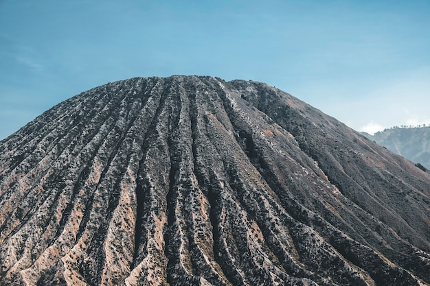 Vulcão cratera mt. bromo leste java, indonésia