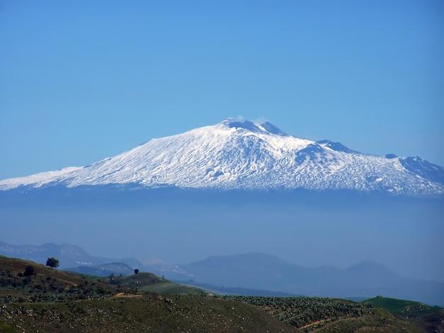 Vulcão etna, sicília