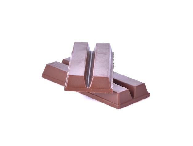 Wafers cobertos de chocolate