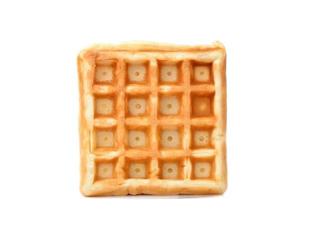 Waffles isolados em um fundo branco