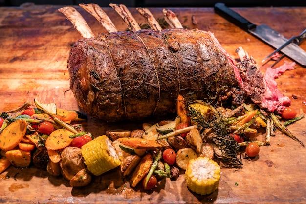 Wagyu carne assada costela