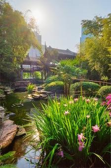 Wangjianglou park chengdu sichuan china