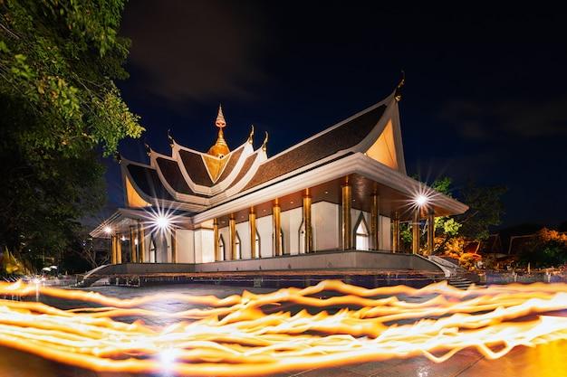 Wat pa pradu, província de rayong