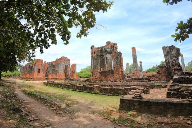 Wat phra si sanphet, phra nakhon si ayutthaya, tailândia.