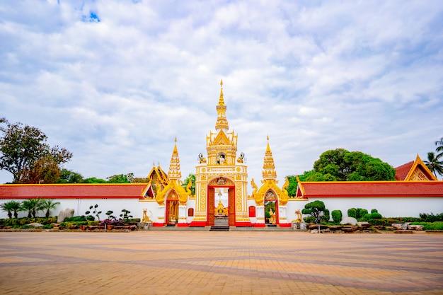 Wat phra that phanom é um templo no distrito de that phanom, tailândia